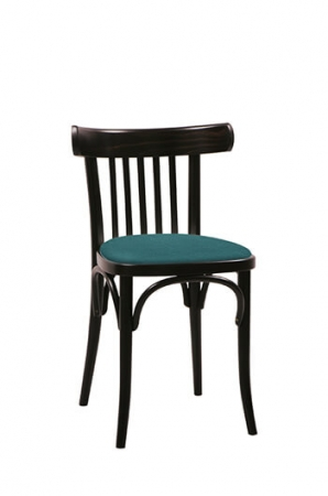 Grand Rapids Bentwood No. 763 Chair with Wood Frame and Seat Cushion