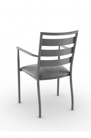 Amisco Tori Metal Dining Armchair with Ladder Style Back