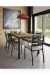 Amisco Tori Metal Dining Armchair in Modern Dining Room