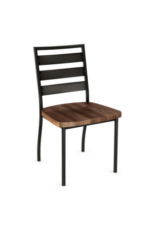 Amisco Tori Dining Chair with Wood Seat