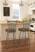 Amisco Garden Swivel Stool in Traditional Kitchen