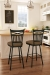 Amisco Garden Swivel Stool in Farmhouse Kitchen