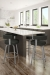 Amisco Garrett Swivel Stool for Modern Kitchens