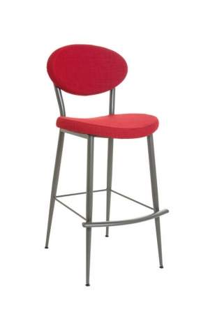 Amisco Opus Stool with Curved Backrest and Curved Seat