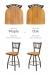 Holland's Contessa Comparison Between Medium Maple vs Medium Oak Wood Finish