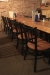 Holland Bar Stool's Contessa Dining Chair with Wood Seat