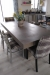 Holland's Jackie Silver Dining Chairs with Plaid Fabric in Modern Dining Room