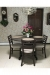 Holland's Jackie Metal Dining Chair in Dining Room with Table