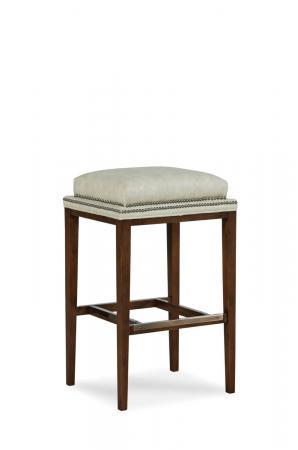 Fairfield Chair's Noah Wooden Backless Barstool