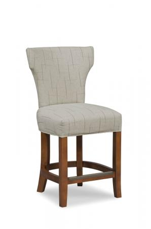 Fairfield Chair's Ardmore Upholstered Counter Stool with Backrest