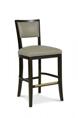Fairfield Chair's Hale Wooden Bar Stool with Back