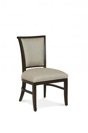 Fairfield's Mackay Armless Upholstered Wooden Dining Chair