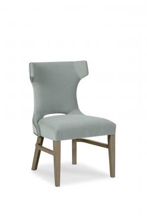 Fairfield's Gavin Transitional Wooden Upholstered Side Chair
