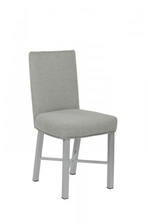 Wesley Allen's Jackson Modern Upholstered Dining Chair in Gray