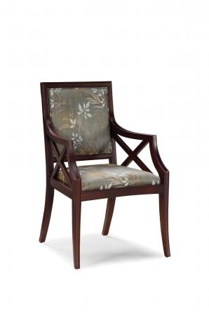Fairfield's Brookfield Comfortable Upholstered Wood Dining Arm Chair