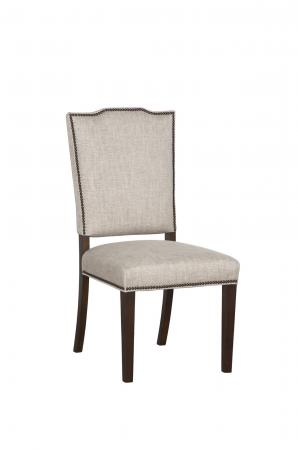 Fairfield's Josephine Upholstered Wood Dining Chair with Nailhead Trim