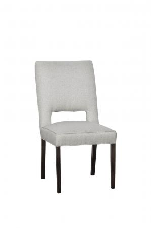 Fairfield's Thompson Upholstered Side Chair with Wood Frame