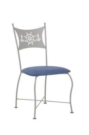 Trica Art Collection Vanity Chair with Laser-Cut Back