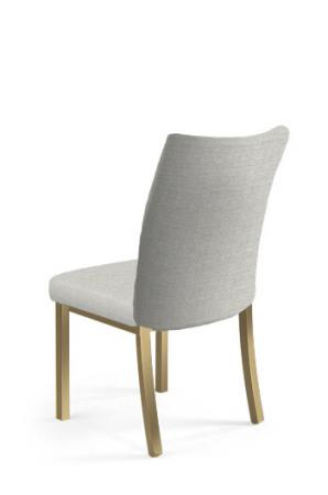 Trica's Modern Gold Dining Chair with Back
